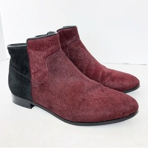 Rebecca Minkoff Booties Ankle Boots Calf Hair Boot